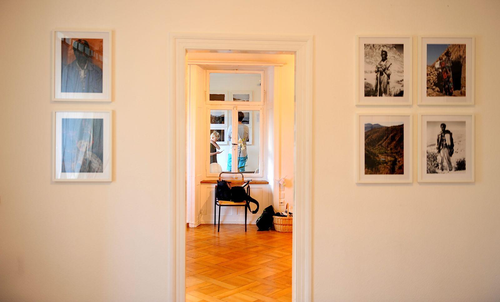 Blick ins Innere der Wohnung im Erdgeschoss, die als «d'Wohnig» zwischengenutzt wurde.