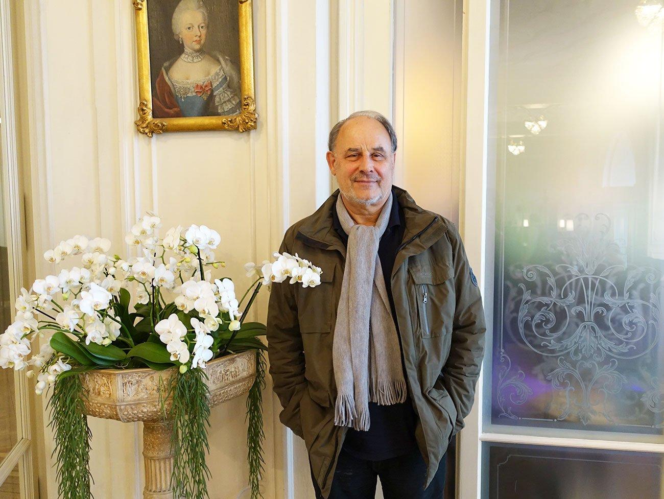 Musik hält mich auf Trab: Heinrich Müller ist fast 71.