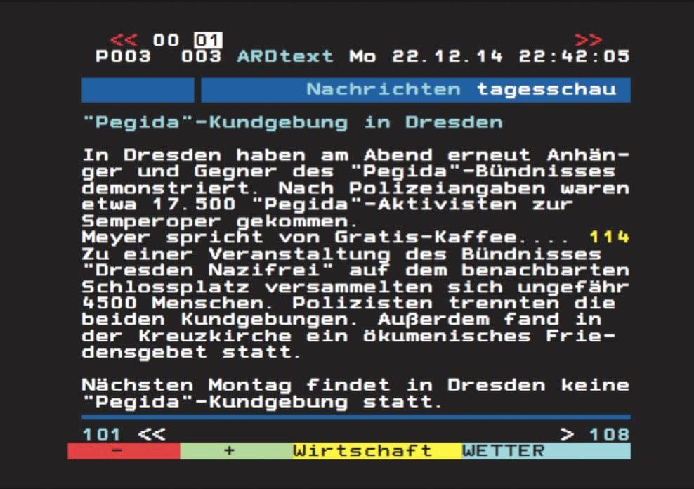 Dieser Teletext-Unfall war der Ursprung von Schenardis Projekt «Meyer spricht von Gratiskaffee».