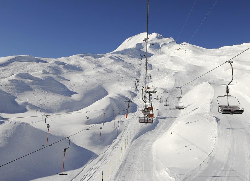 Das Skigebiet Eisee am Brienzer Rothorn. Es ist noch bis Ostermontag geöffnet.