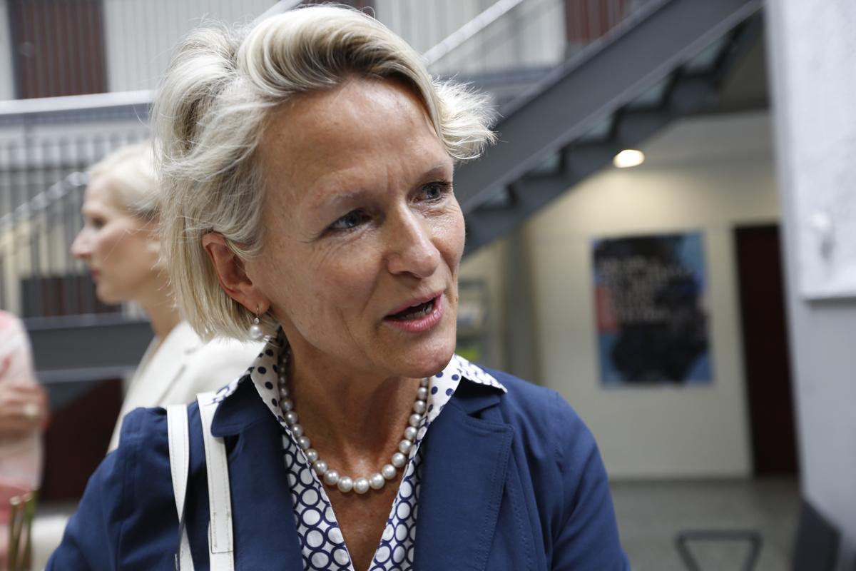 Andrea Gmür, Präsidentin der städtischen CVP.