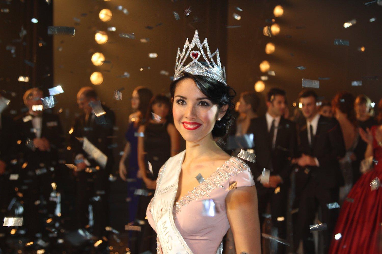 Amtierende Miss Schweiz: Lauriane Sallin bei der Krönungszeremonie 2016.