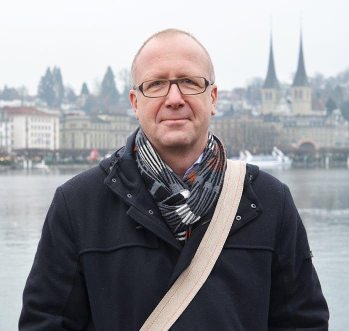 Architekt Gerold Kunz.