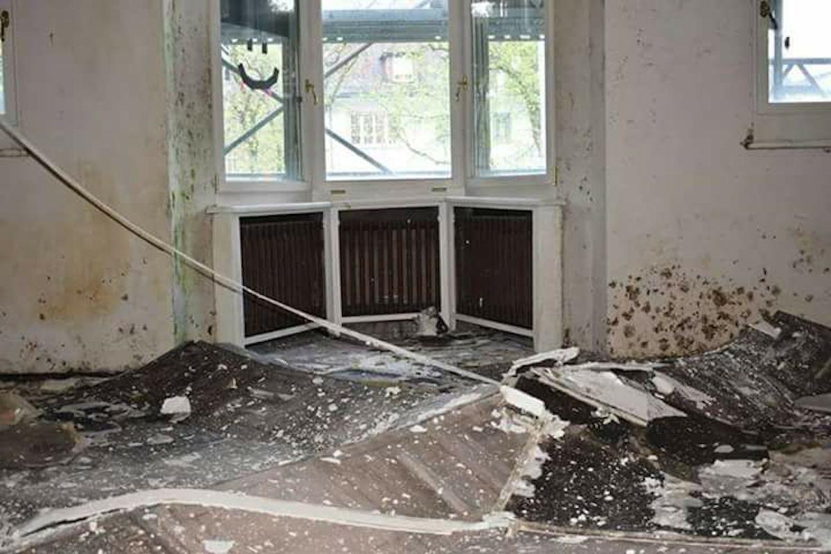 Auf Facebook zeigen die Besetzer den Zustand der Villa an der Obergrundstrasse 99.