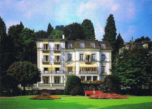 Das bisherige Hotel «Beau Séjour» an der Haldenstrasse.
