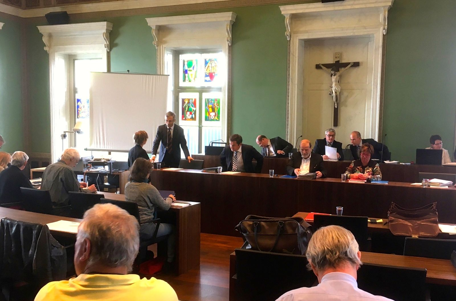 Der Grosse Gemeinderat Zug tagte am Dienstag im Regierungsgebäude.
