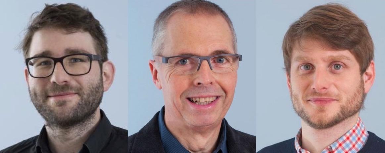 Kritische Stimmen: Martin Wyss, Peter Fässler und Urban Sager (von links).