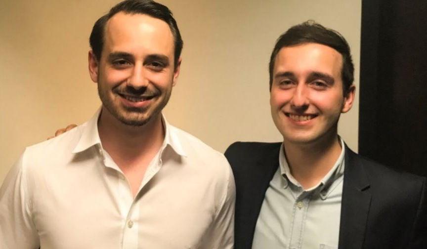 Marco Heer (links) und Marco Baumann treten zurück.
