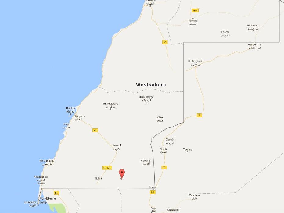 Viel Sand um nichts gibt es im Zug in der Westsahara. Ein Gebiet, das nicht ungefährlich ist.