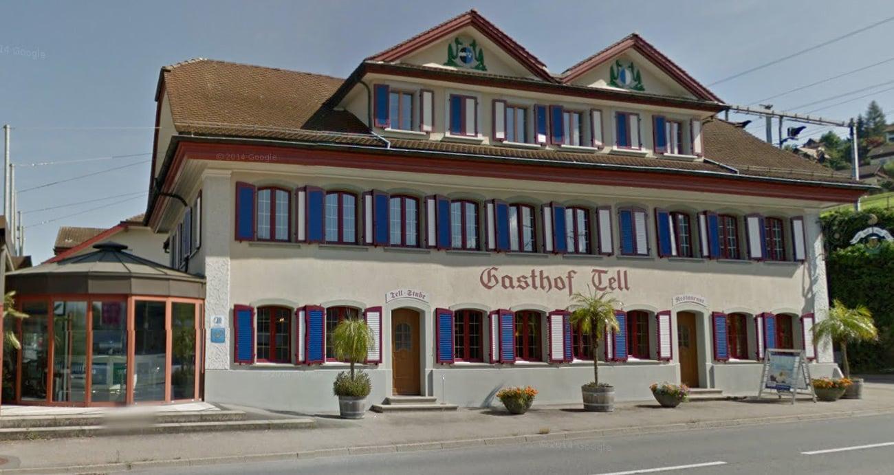 Die Gemeinde Gisikon bezahlt seinen Bürgern einen Beitrag ans Menü im Gasthof Tell.