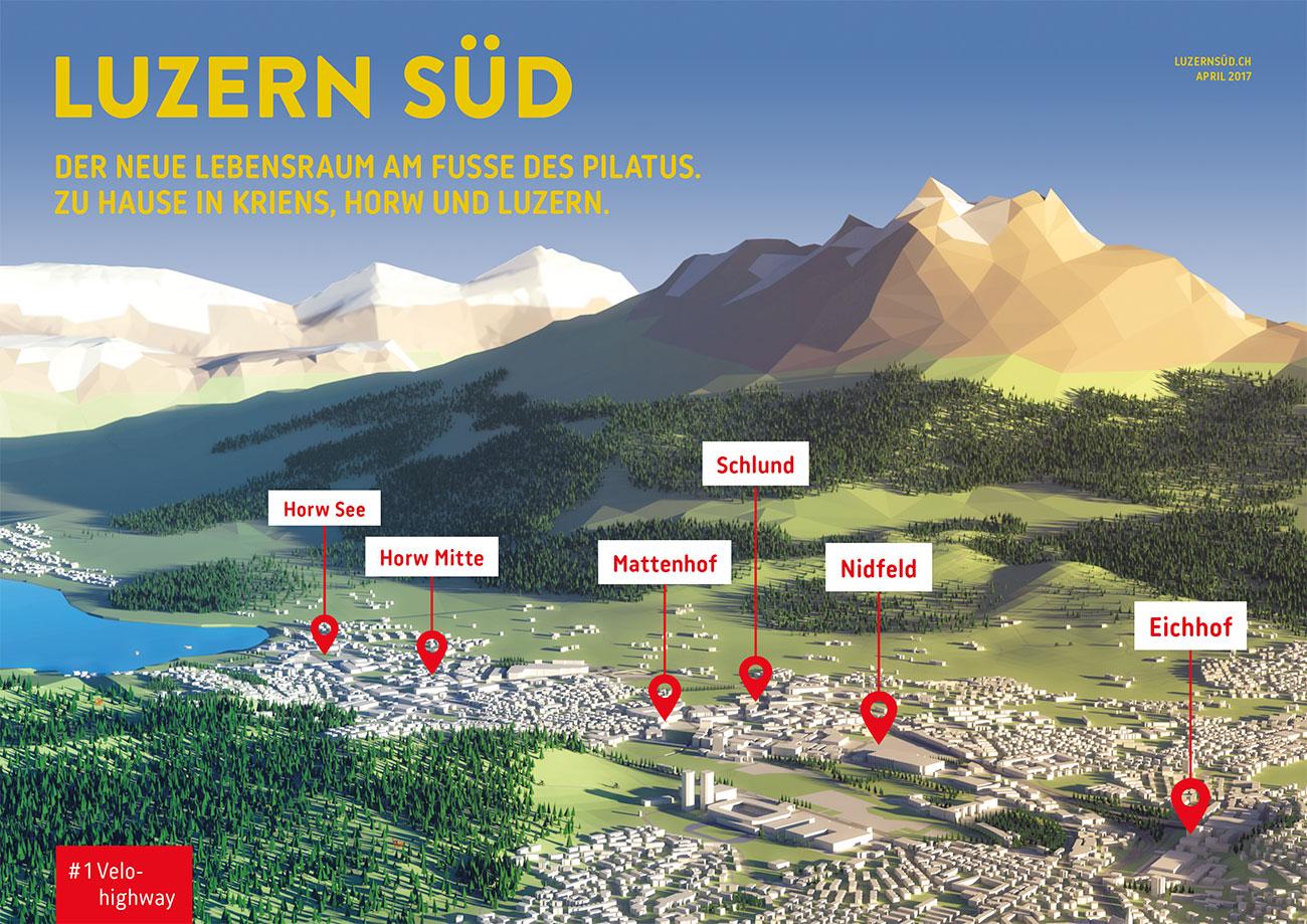 So will man das Projekt Luzern Süd den Leuten besser schmackhaft machen.