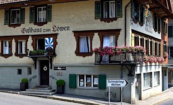 Eine andere Gourmet-Adresse in Zug: Der Menzinger «Löwen».