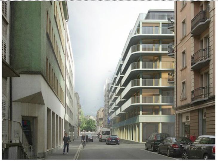 So soll die Neustadtstrasse in Luzern schon bald aussehen.