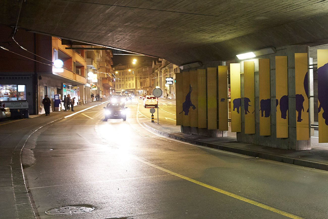 Die Baselstrasse in der Nacht: Hier soll wieder mehr los sein.