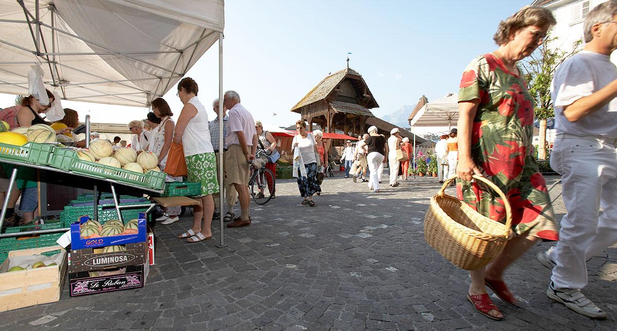Der Luzerner Wochenmarkt soll seinen Charakter behalten.