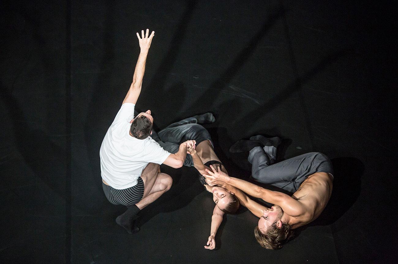 Szene aus «Tanz 22: Up/Beat» am Luzerner Theater vom letzten September.