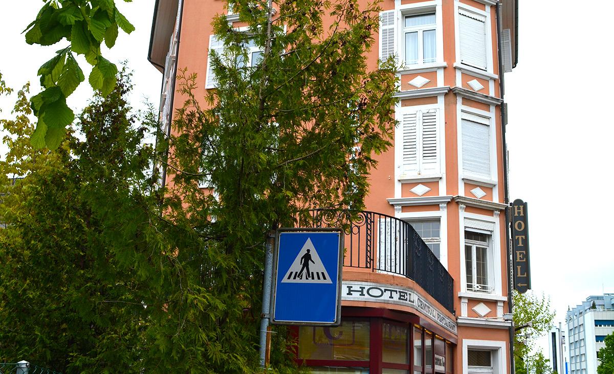 Das ehemalige Hotel-Restaurant Central an der Schachenstrasse.