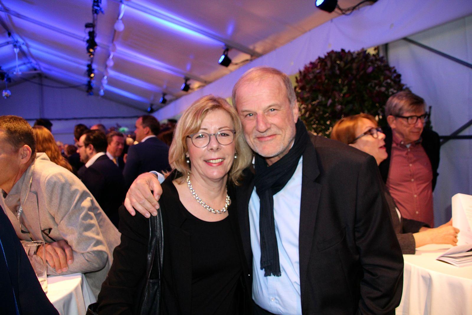 Der Zuger Stadtpräsident Dolfi Müller mit Gattin Ursula.