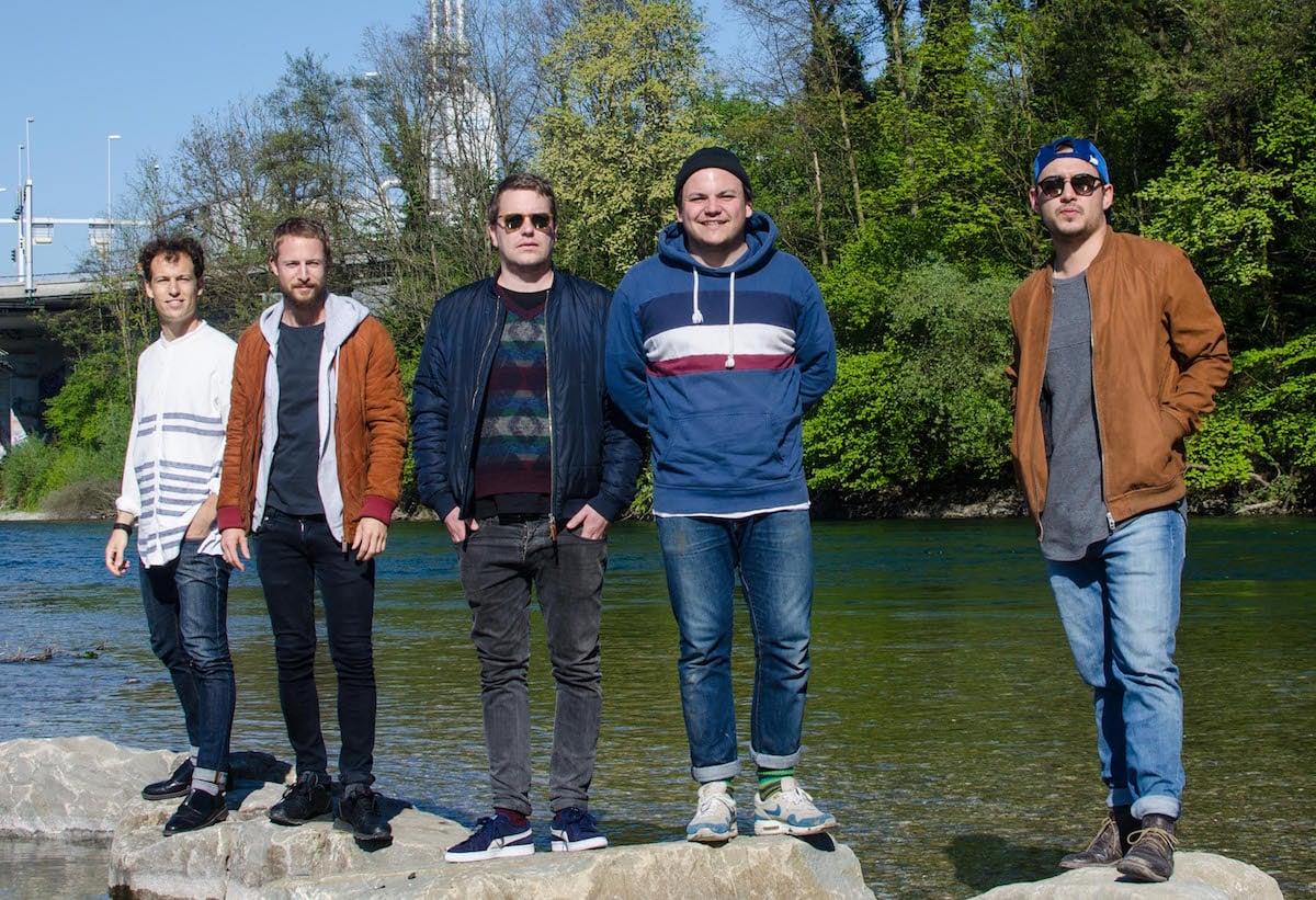 Das Nordpol-Team (von links): Lior Etter, Morris Etter, Manuel Kaufmann, Mike Walker und Dominik Schmid.