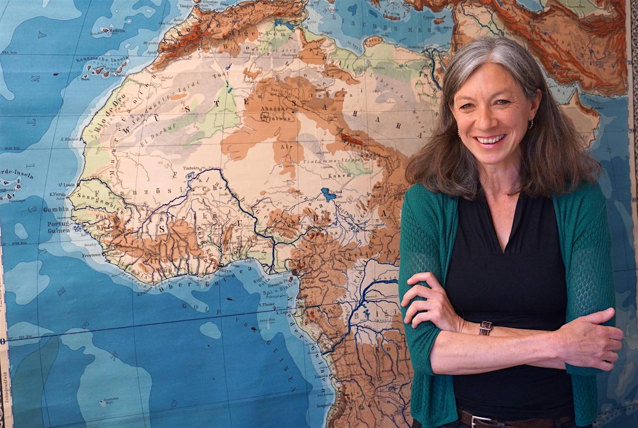 Leitet die Stellenvermittlung beim Schweizerischen Arbeiterhilfswerk: Christine Spychiger.