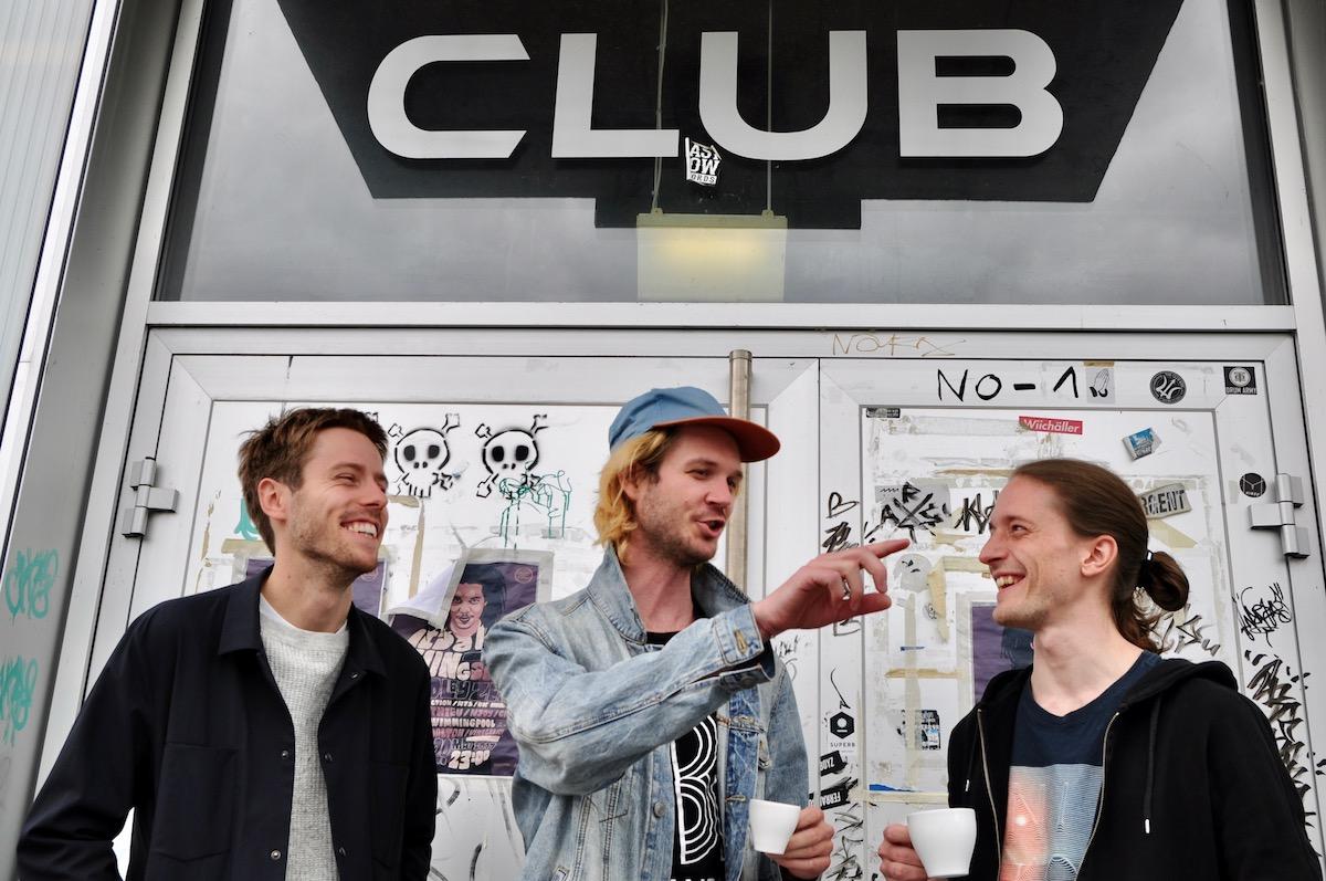 Im Südpol-Club präsentieren sie das Ergebnis einer Woche musikalischen Schaffens.