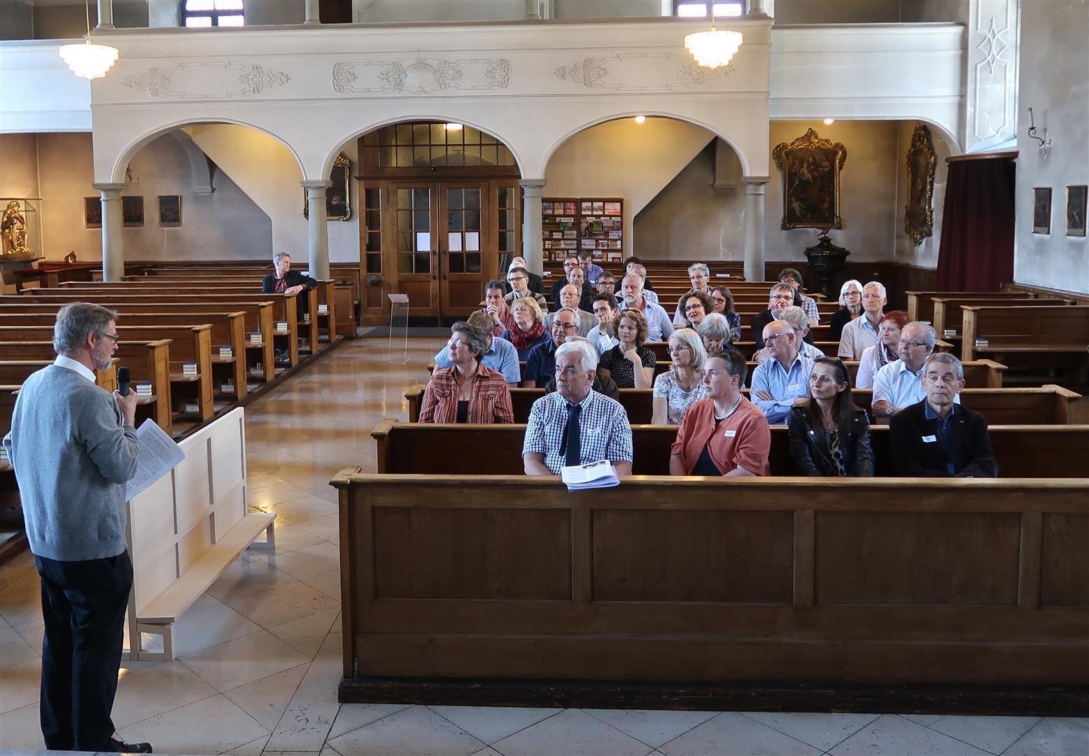 Das Parlament der Luzerner Katholiken traf sich erst in der Peterskapelle und tage nachher im Luzerner Rathaus.
