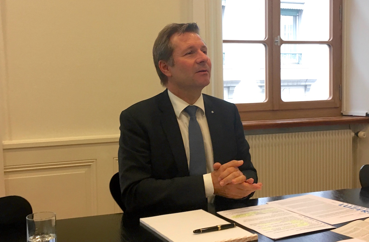 Finanzdirektor Marcel Schwerzmann muss ein neues Budget ausarbeiten.