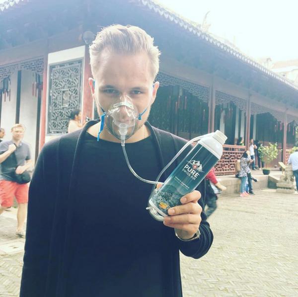 Geschäftsreise in den Smog: Im Yu-Garten von Shanghai.