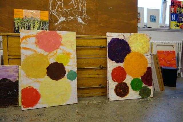Impression aus Peter Roeschs Atelier