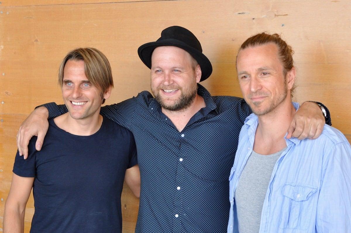 Von links: Lukas Schaller, Henrik Belden und Pirmin Wirz.