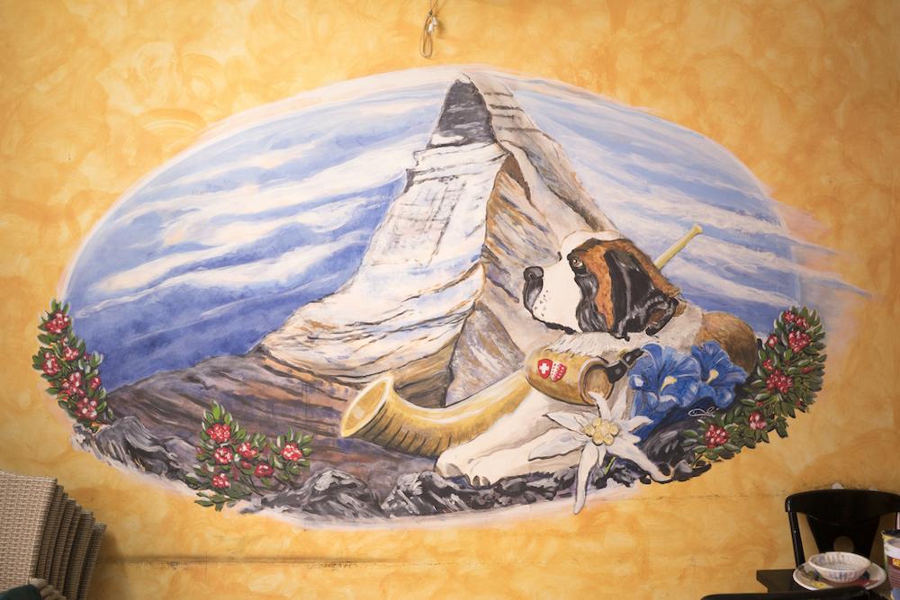 Auch das Matterhorn wollte sich Fischli nach Vietnam holen.