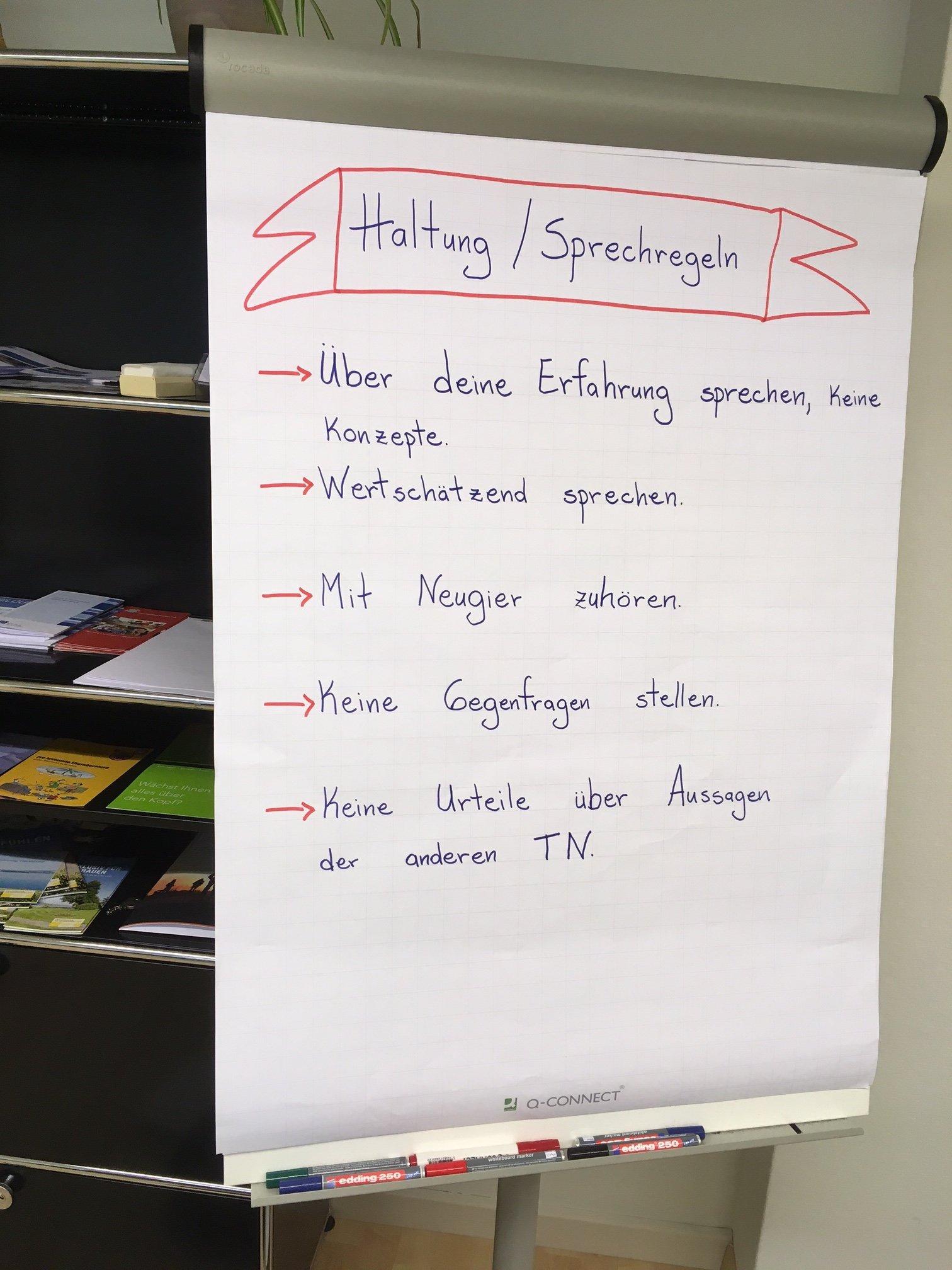 Die Regeln der Gesprächsrunde «Der andere Sexsalon».