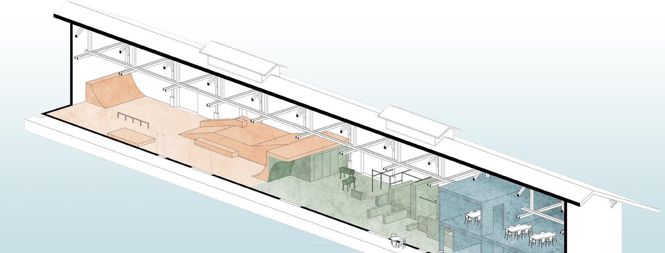 So ist die Freestyle-Halle für Zug geplant.