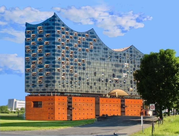 Anstatt des seltsamen Bürogebäudes könnte man in Rotkreuz – da ist ja noch ordentlich Platz vorhanden – eine zweite Elbphilharmonie bauen. Oder halt Lorzphilharmonie.