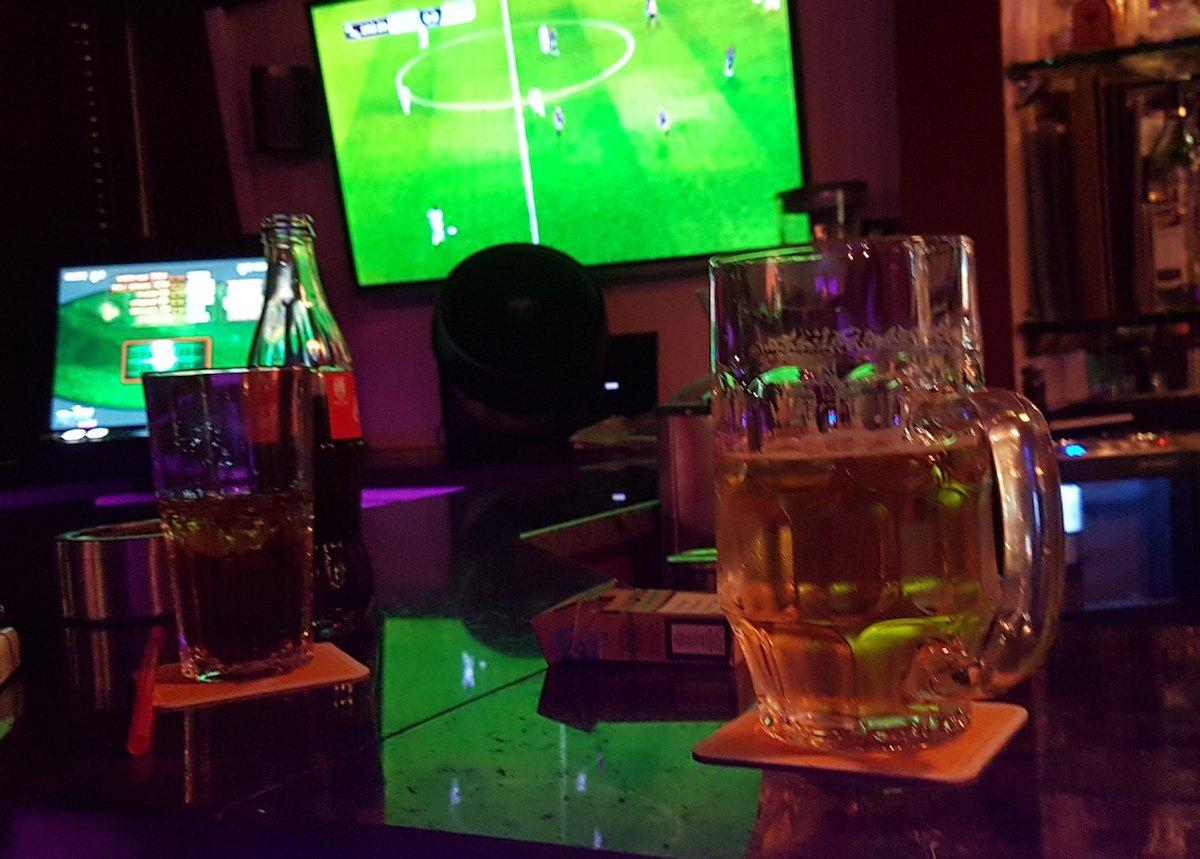 Fussball und Bier: Die Klassiker im Gotthärdli.