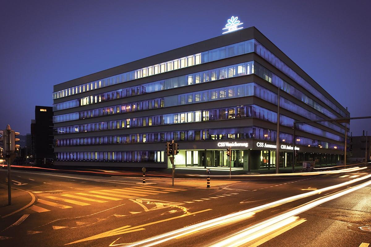 Der CSS-Hauptsitz in der Tribschenstadt.