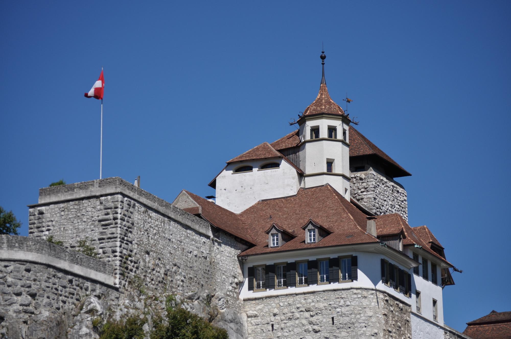 Die Festung Aarburg mit dem Jugendheim. 2012 brachen schon einmal Jugendliche aus.