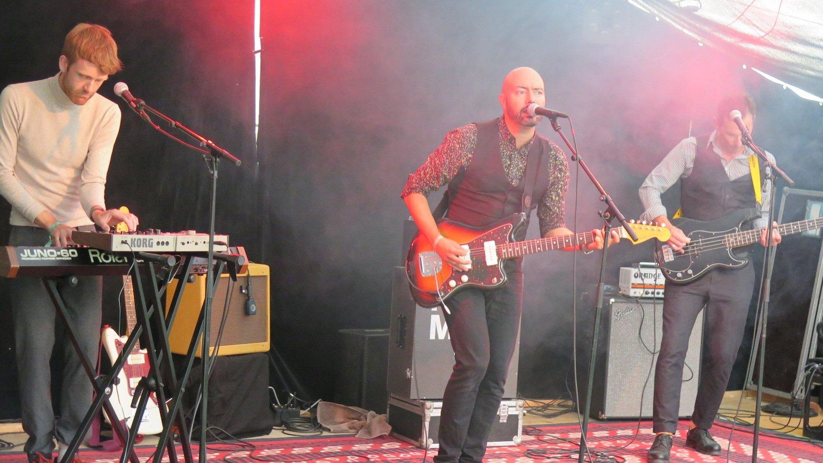 Die Luzerner Band Hermann eröffnete den Festival-Freitag.