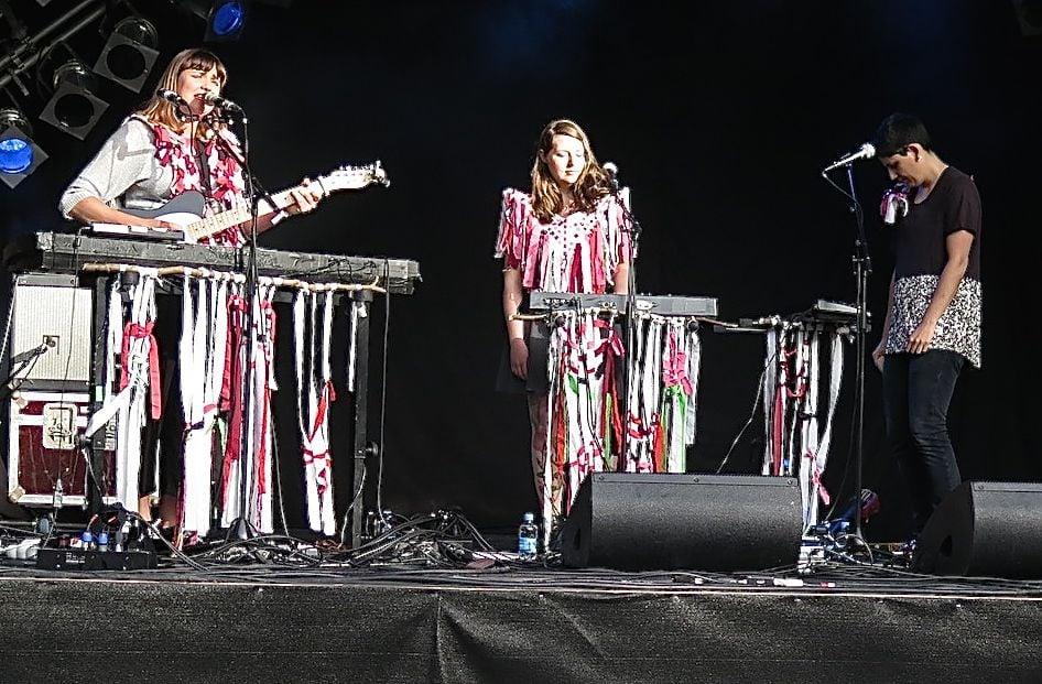 Die Frauen von «Dear Reader» aus Berlin versuchten mit ihrem Sound das Festival zu verzaubern.
