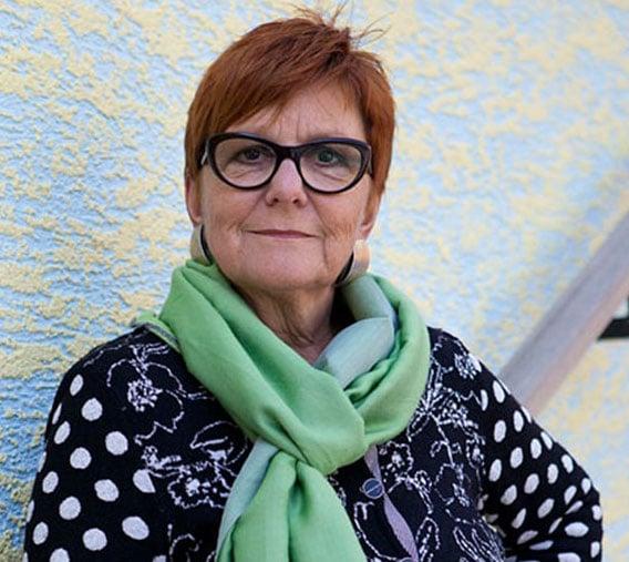 Engagement für eine gerechtere Welt: Cécile Bühlmann.