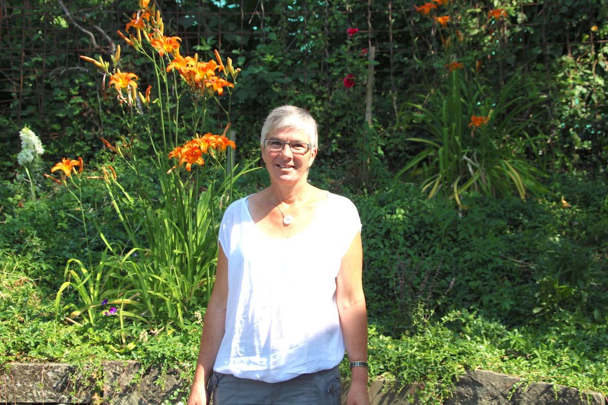 Die Leiterin von GGZ@Work Recycling, Yolanda Fässler.