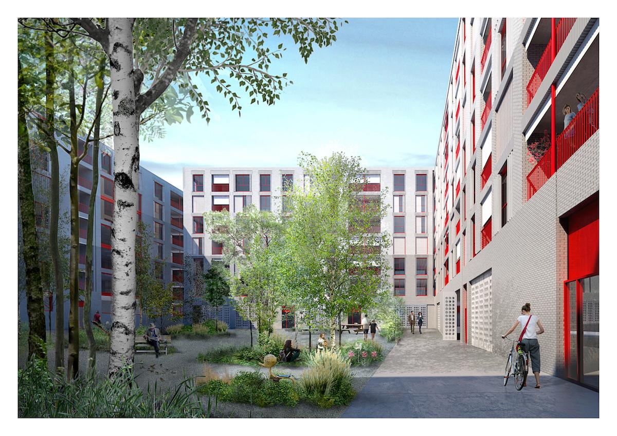Das Team Christ & Gantenbein Architekten aus Basel überzeugte die Jury unter anderem mit virtuoser Architektur. (Visualisierung: zvg)