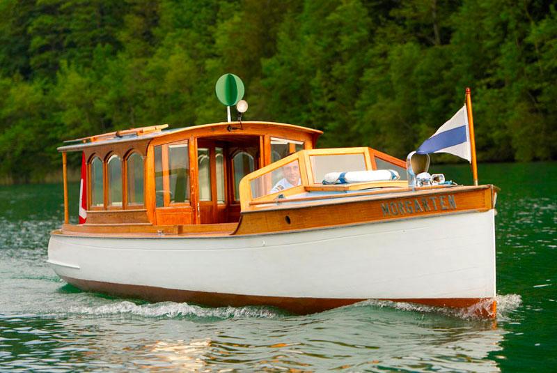 Das verkaufte Nostalgieschiff MS Morgarten.