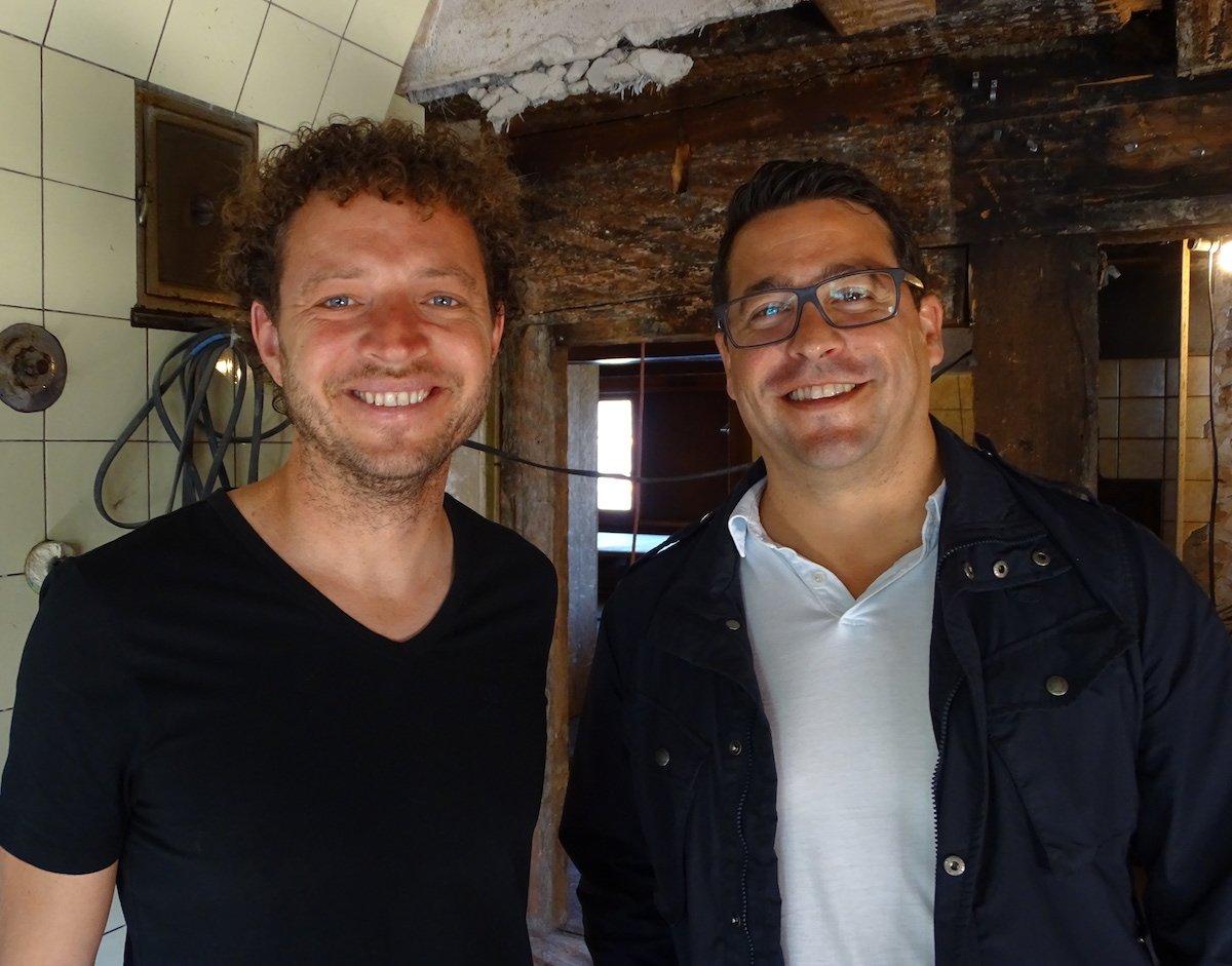 Die beiden Geschäftsführer Samuel Vörös (l.) und Primo Delea (r.).