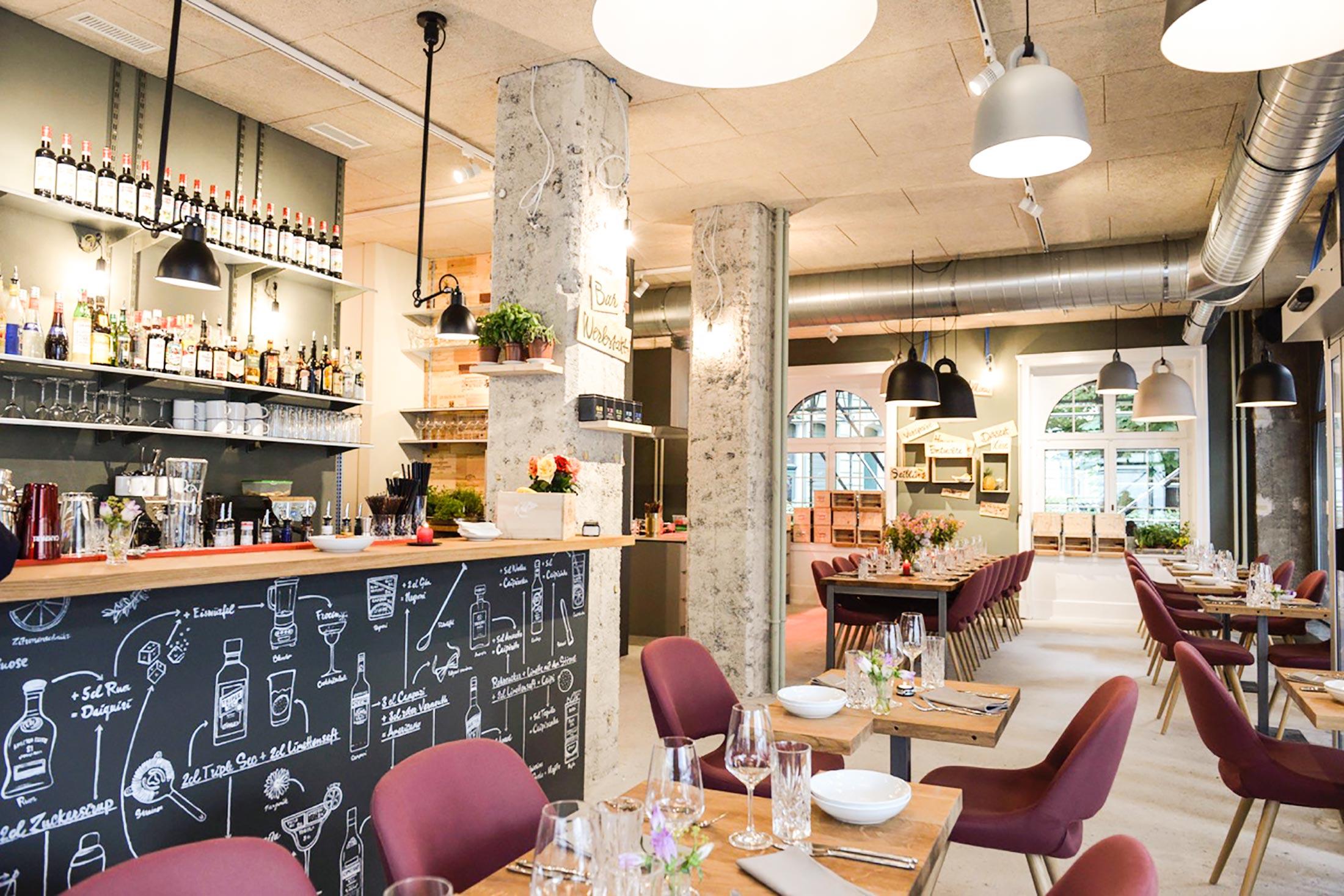 Das Restaurant «Zur Werkstatt» an der Waldstätterstrasse 18 hat im Juni eröffnet. (Bild: zVg)