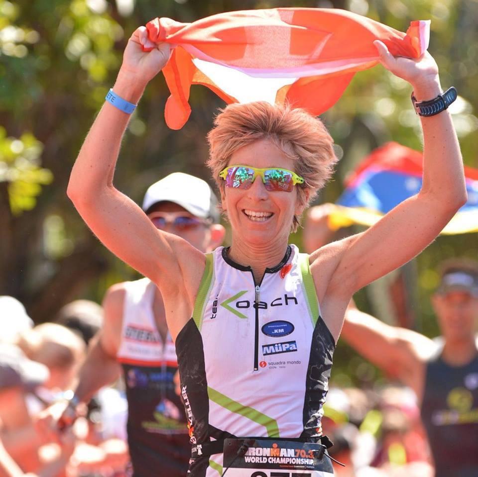 Tanja Bühlmann ist Champion des Triathlons. Aber wo? In der Schweiz, in Europa, in der Welt oder an Olympia?