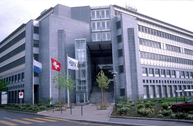 Arbeitsort für Hunderte: Suva-Niederlassung Rösslimatt in Luzern.