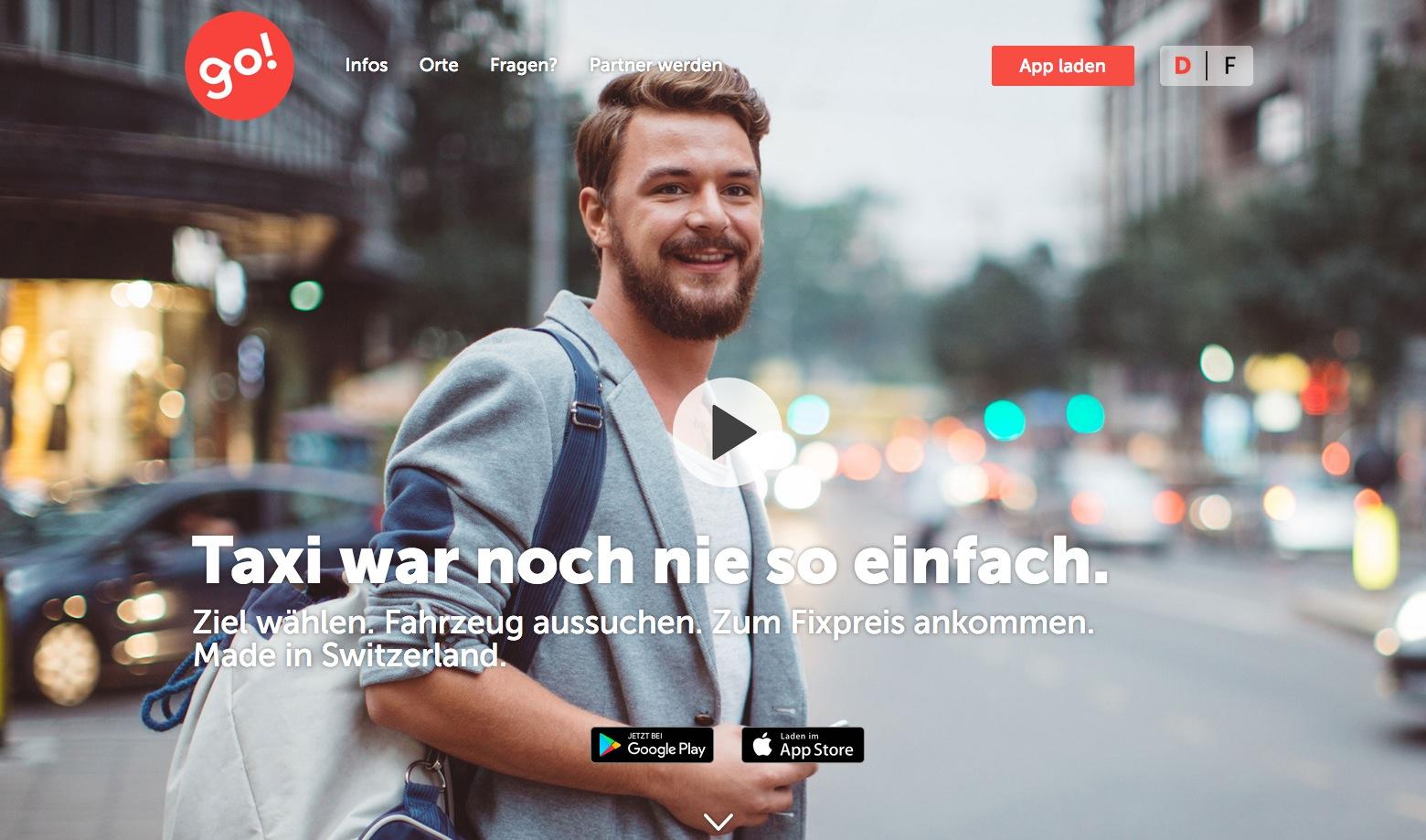 Die App «go!» wurde im März 2017 lanciert.