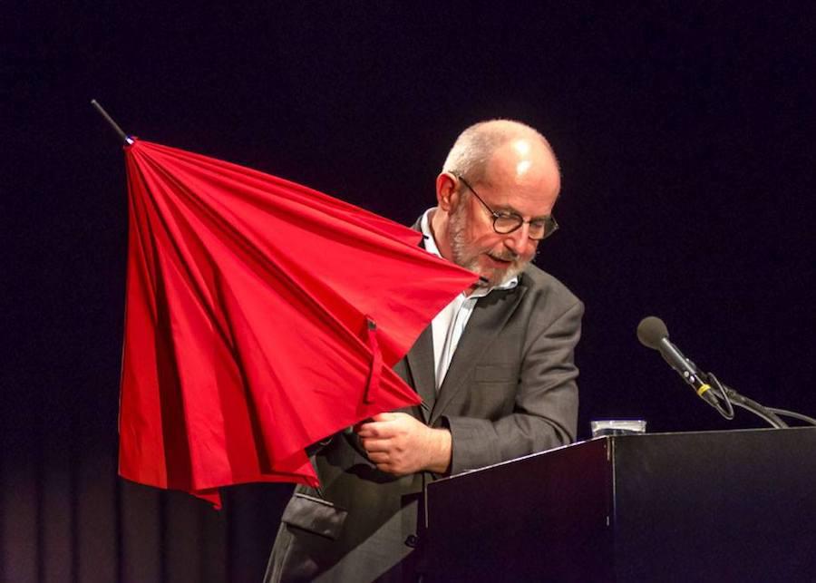 Thomas Hürlimann bei einer Lesung in Zürich.
