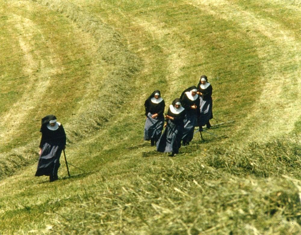 Nonnen vom Gubel am Heuen.